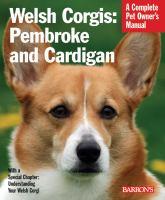 Welsh Corgis--Pembroke and Cardigan
