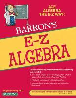 Barron's E-Z Algebra