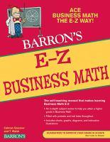 E-Z Business Mathematics
