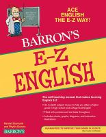 Barron's E-Z English