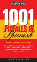 Barron's 1001 Pitfalls in Spanish
