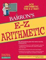 Barron's E-Z Arithmetic