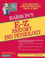 Barron's E-Z Anatomy and Physiology