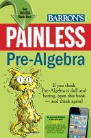 Barron's Painless Pre-algebra