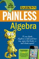 Barron's Painless Algebra