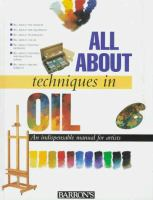 All About Techniques in Oil