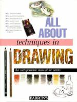 All About Techniques in Drawing