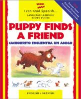 Puppy finds a friend