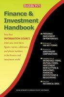 Barron's Finance & Investment Handbook
