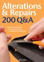 Alterations & Repairs 200 Q&A