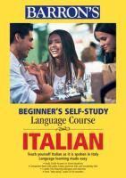 Barron's Beginner'sself-study Language Course