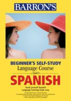Beginner's self-study language course