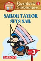 Sailor Taylor Sets Sail