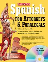Spanish for Attorneys and Paralegals