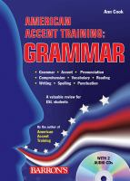 American Accent Training Grammar
