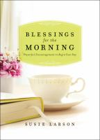 Blessings for the Morning