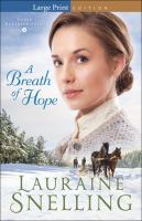 A Breath Of Hope (Large Print)