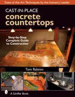 Cast-in-place Concrete Countertops