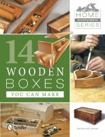 14 Wooden Boxes You Can Make