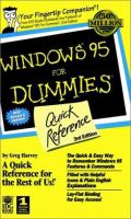 Windows 95 For Dummies Quick Reference
