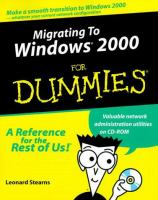 Migrating to Windows 2000 for Dummies