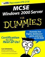 MCSE Windows 2000 Server