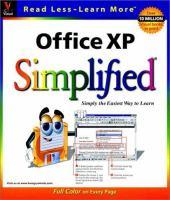 Office XP Simplified
