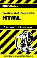 CliffsNotes Creating Web Pages With HTML