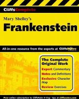 CliffsComplete Shelley's Frankenstein
