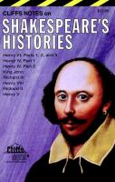 Cliffs Notes on Shakespeare's Histories