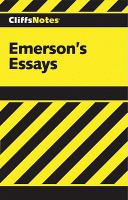 Emerson's Essays Notes