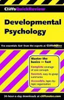 Developmental Psychology (Cliffs Quick Review)
