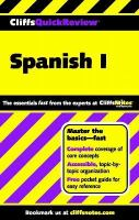 CliffsQuickReview Spanish I