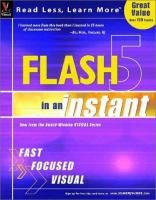 Flash 5 in An Instant