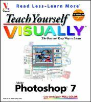 Teach Yourself Visually Photoshop 7