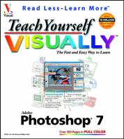 Teach Yourself Visually Photoshop 7