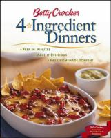 Betty Crocker 4-ingredient Dinners