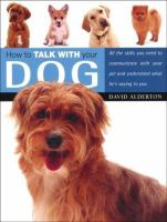 How to Talk With your Dog
