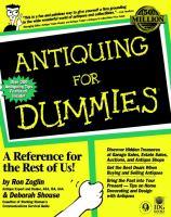Antiquing for Dummies