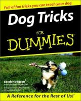 Dog Tricks for Dummies