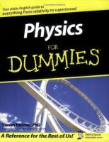 Physics for Dummies