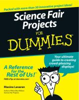 Science Fair Projects for Dummies