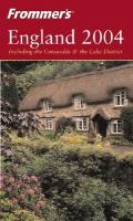 Frommer's England 2004