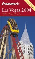 Frommer's Las Vegas 2004