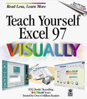 Teach Yourself Microsoft Excel 97 Visually