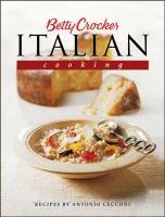 Betty Crocker's Italian Cooking