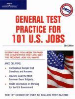 General Test Practice for 101 U.S. Jobs