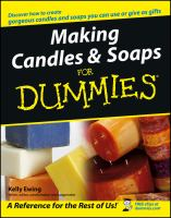 Making Candles & Soaps for Dummies