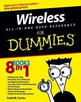 Wireless All-in-one Desk Reference for Dummies