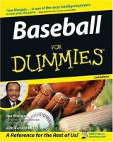 Baseball for Dummies